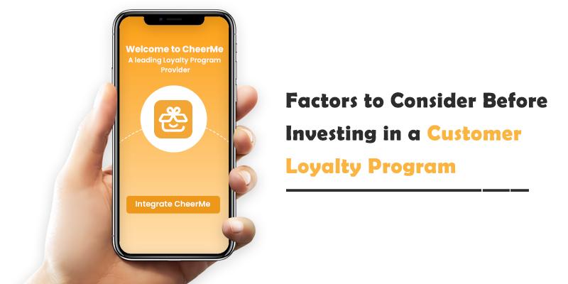 Customer Loyalty Program Solutions